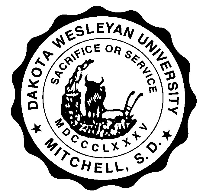 Dakota Wesleyan University collegiate seal