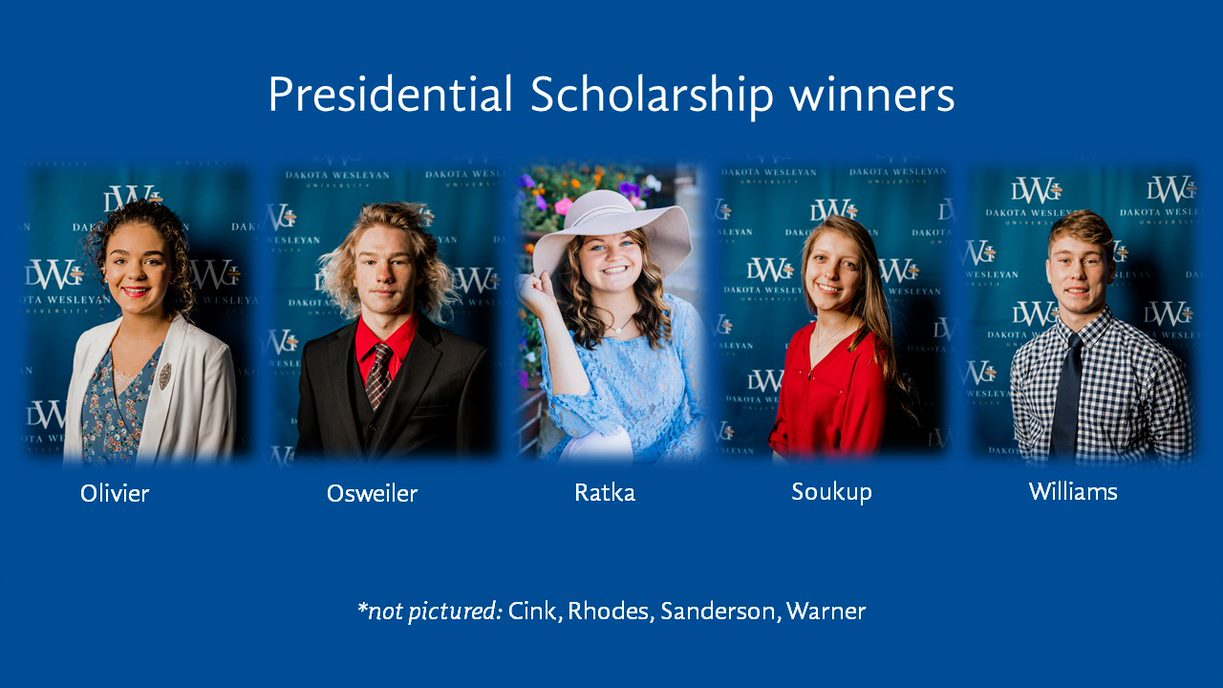 Presidential Scholarship Winners