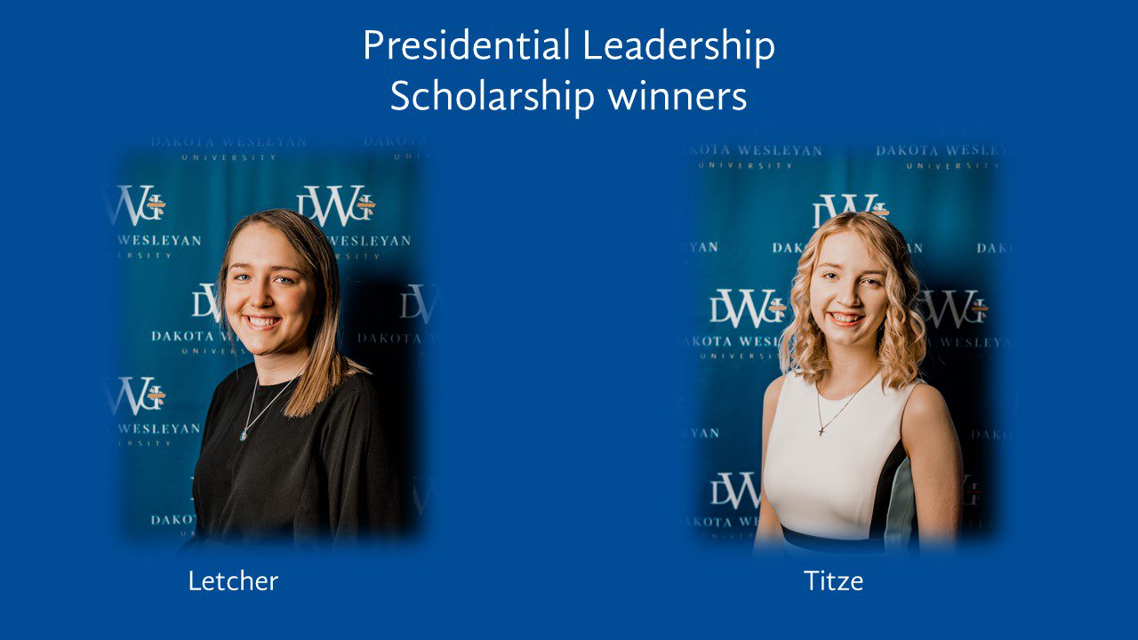 Presidential Leadership Scholarship Winners