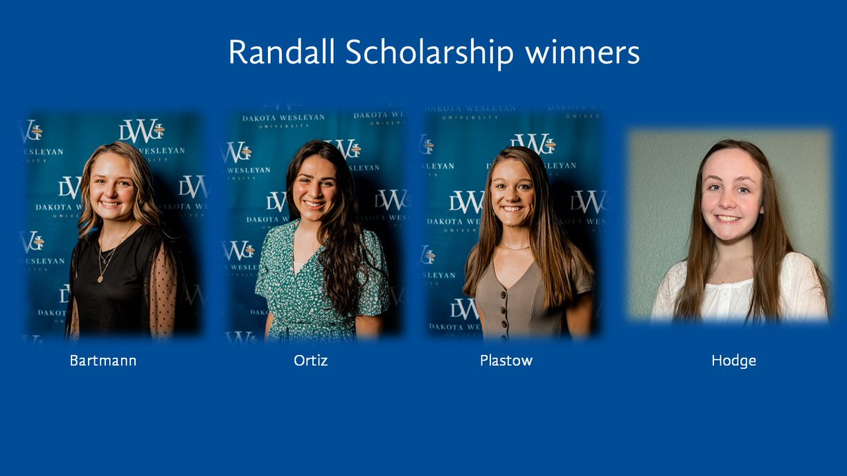Randall Scholarship Winners