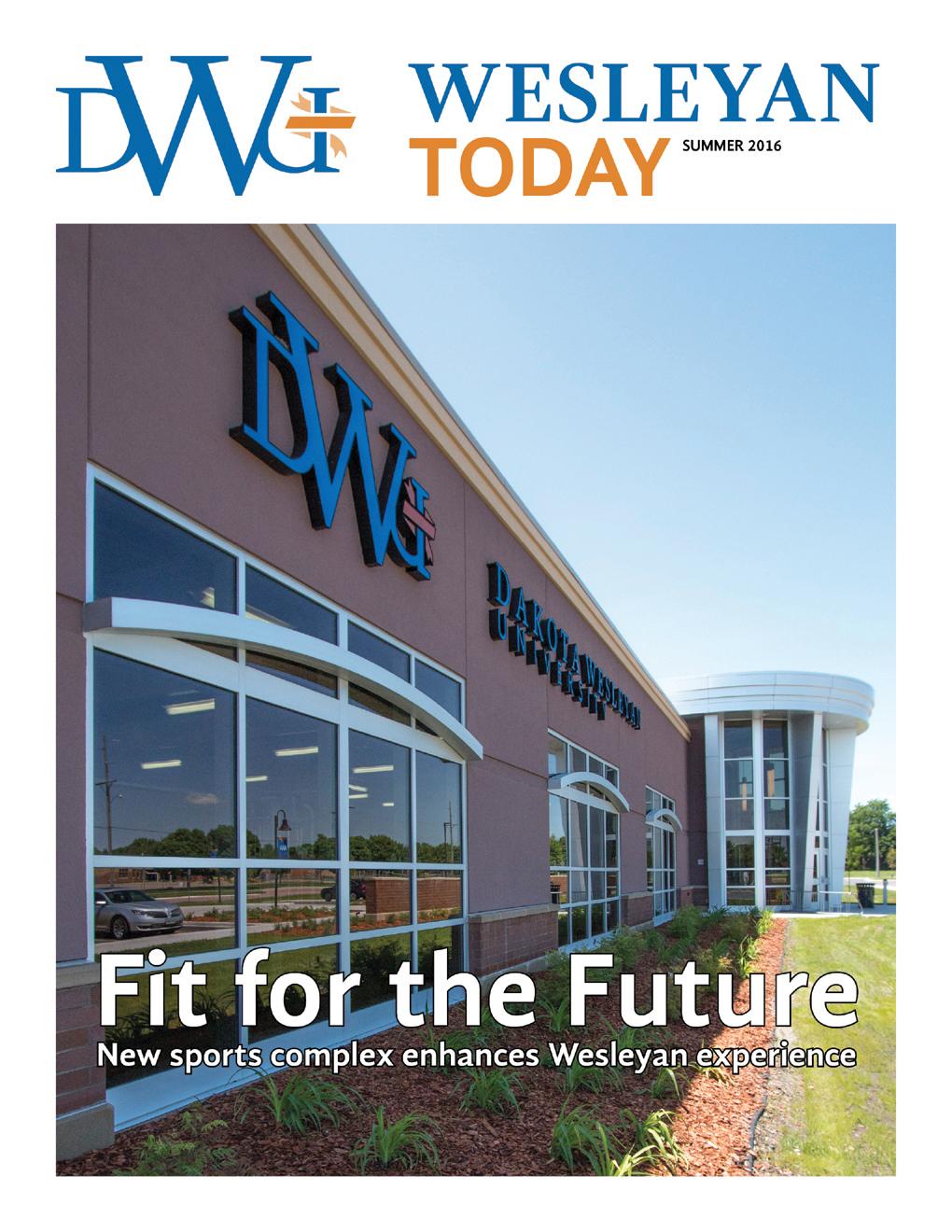 Cover of 2016 Summer Wesleyan Today alumni magazine