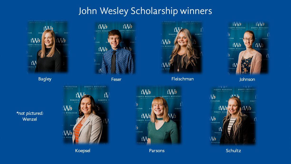 John Wesley Scholarship Winners