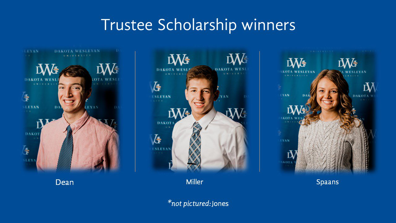 Trustee Scholarship Winners