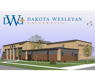 The new black box theatre for DWU, set to open 2018.