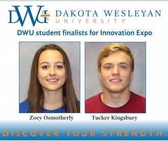 Two DWU students place at Innovation Expo