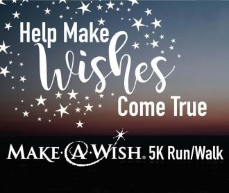 Make-A-Wish 5K Run/Walk poster: Sept. 16, 10 a.m.