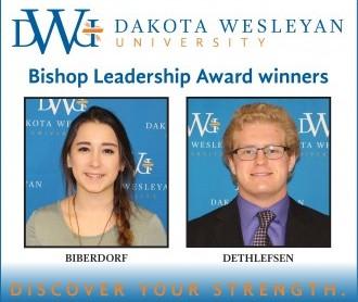 Bishop Leadership Award Winners for 2017