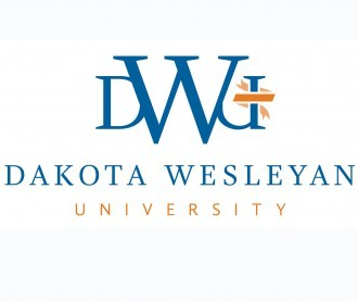 Dakota Wesleyan University logo.