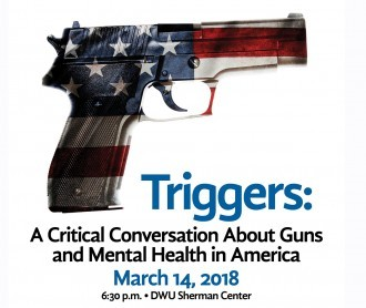 Poster for discussion on gun control