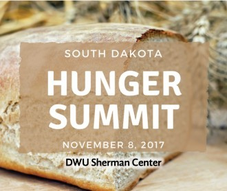 Poster for South Dakota Hunger Summit
