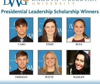 Presidential Leadership Scholarship winners for 2017
