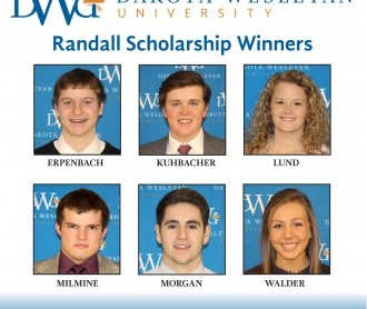 Randall Scholarship Award Winners for 2017