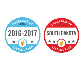 Colleges of Distinction 2016-2017 badge