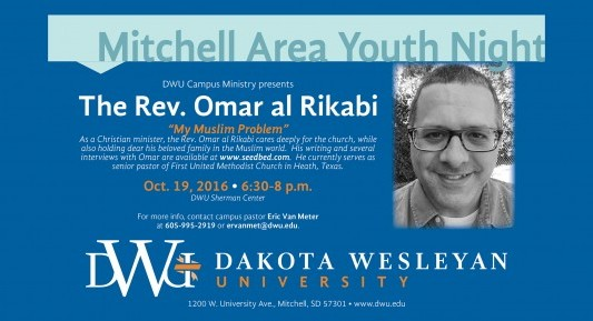 Mitchell Area Youth Night set for Oct. 19 at DWU