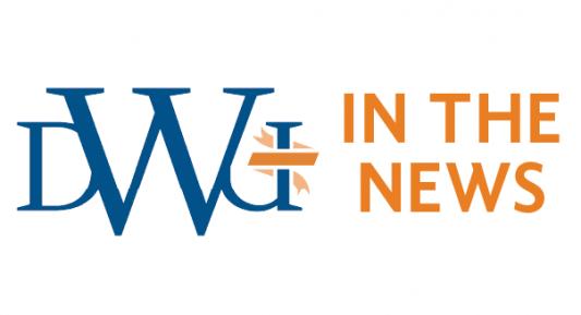 DWU in the news logo