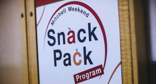 Mitchell Weekend Snack Pack Program logo