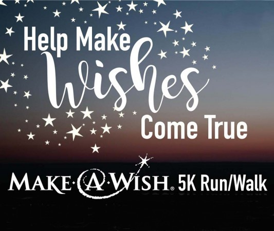 Make-A-Wish 5K Run/Walk poster: Sept. 16, 10 a.m.