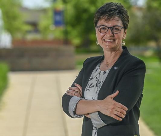 DWU President Amy Novak