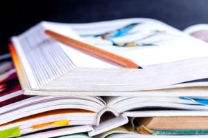 Photo of textbooks