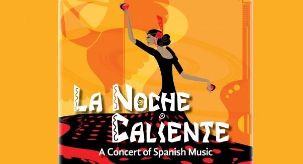 Poster for La Noche Caliente music concert