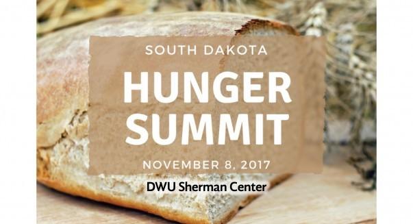 Poster for South Dakota Hunger Summit