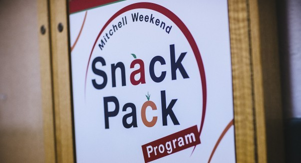 Mitchell Weekend Snack Pack Program logo