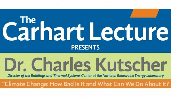 Carhart lecture with Dr. Charles Kutscher,