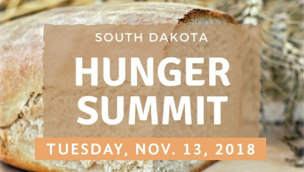 Graphic: South Dakota Hunger Summit, Nov. 13, 2018