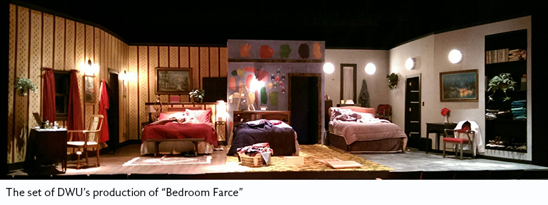 dwu department of theatre returns from regional festival theatre director wins award dakota. Black Bedroom Furniture Sets. Home Design Ideas