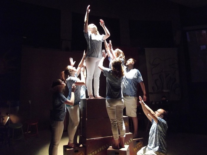 Production photo of Godspell