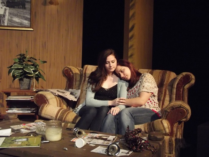 Spiders in the Night production photo