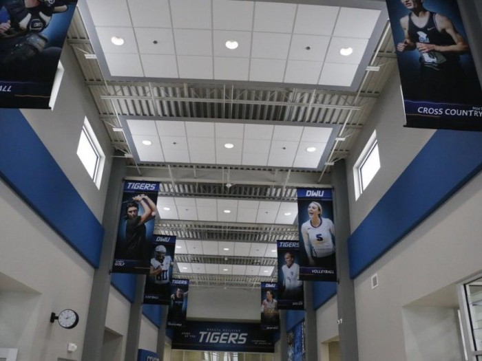 Interior of the DWU/Avera Sports and Wellness Complex
